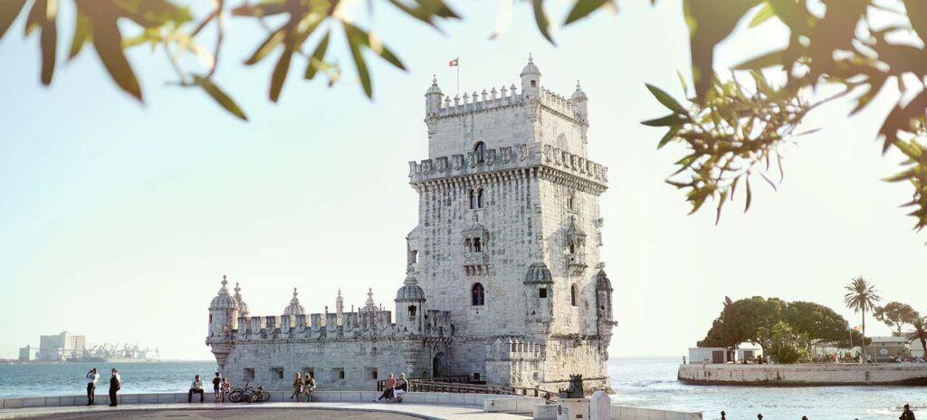 Lisboa torre de belem España portugal y marruecos