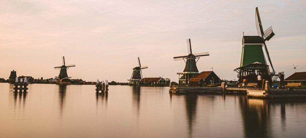 Molinos Holandeses Zaanse Schans