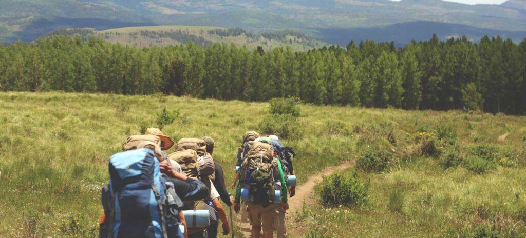 Camino de Santiago Peregrinos ruta