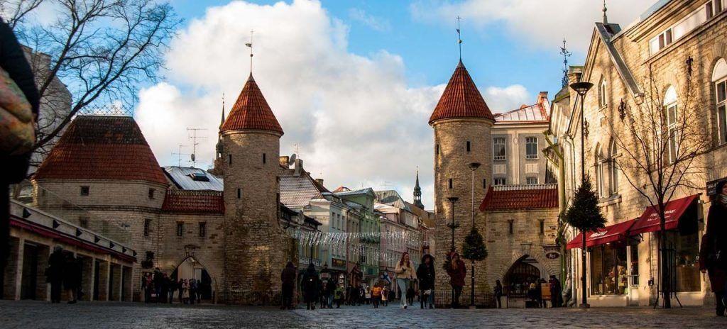 Puerta Qué ver en Tallin Estonia