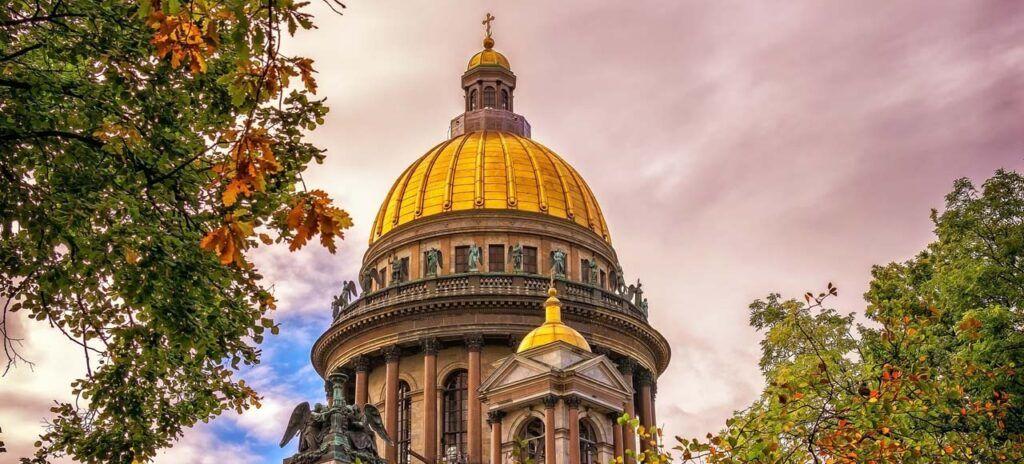 San Petersburgo Catedral San Isaac