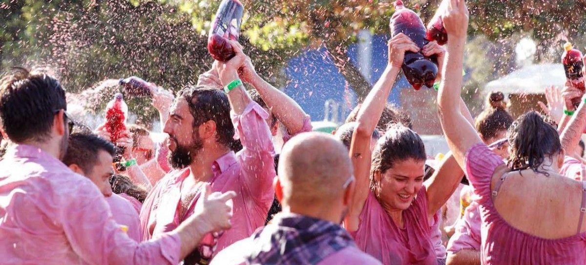 España Batalla del Vino Haro