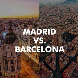 Vivir en Madrid o Barcelona