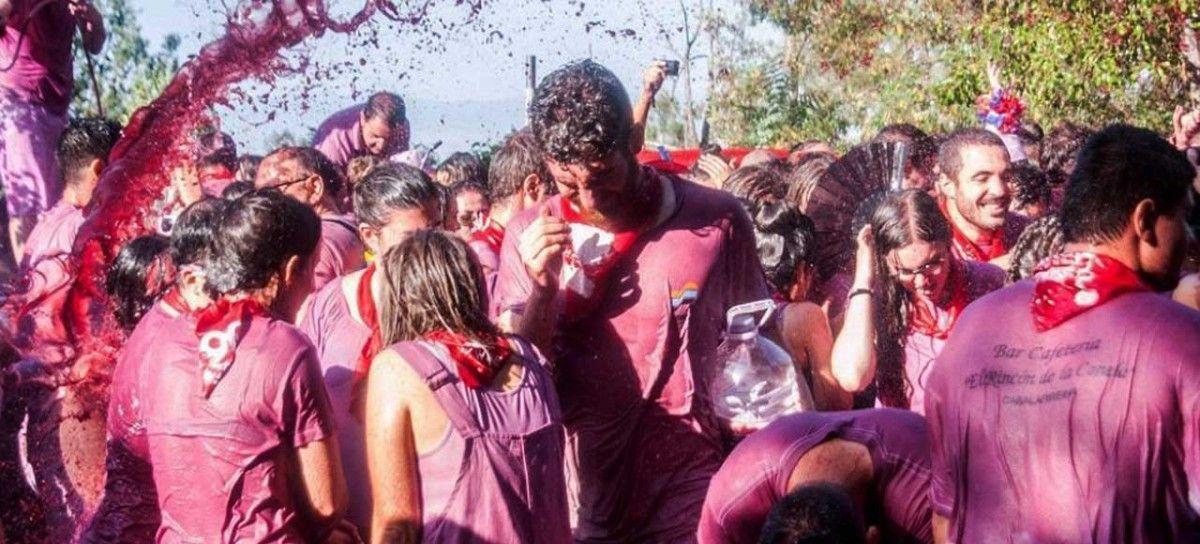 Batalla del vino de Haro La Rioja
