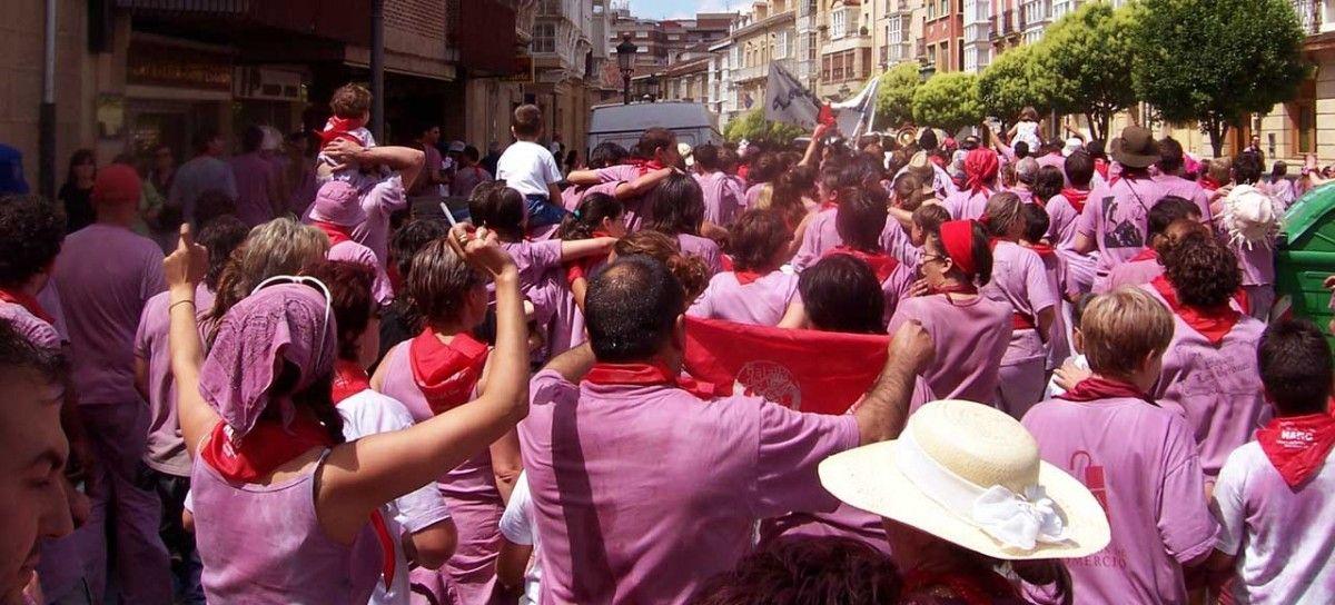España La Rioja Batalla del vino de Haro