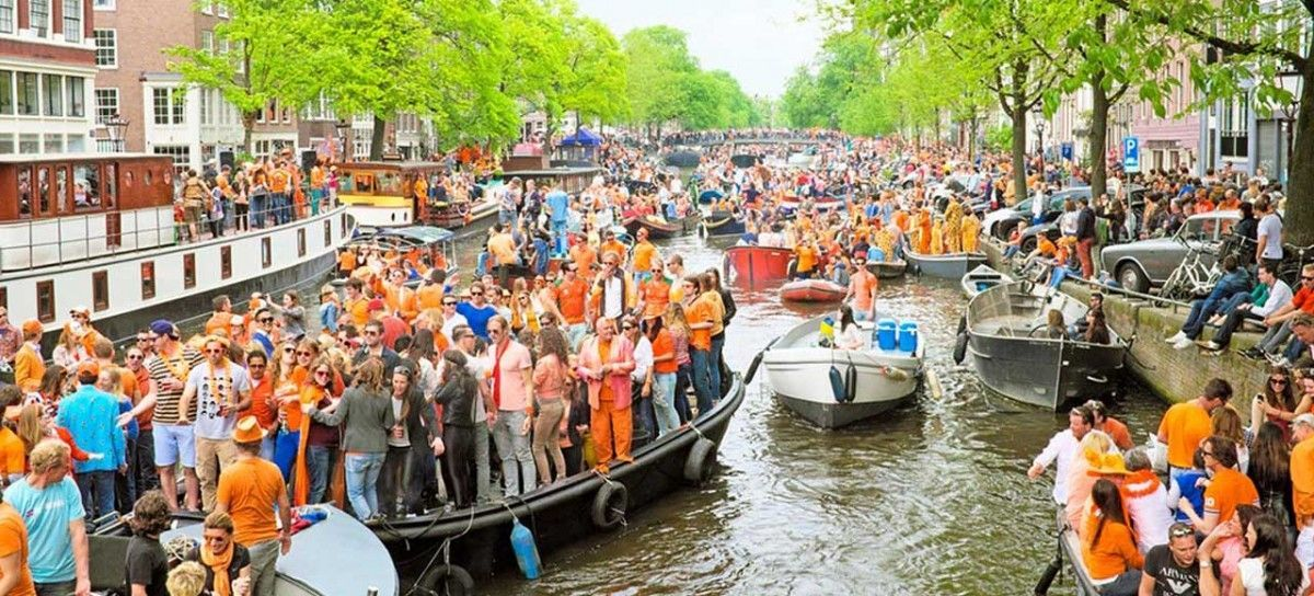 King´s day Amsterdam