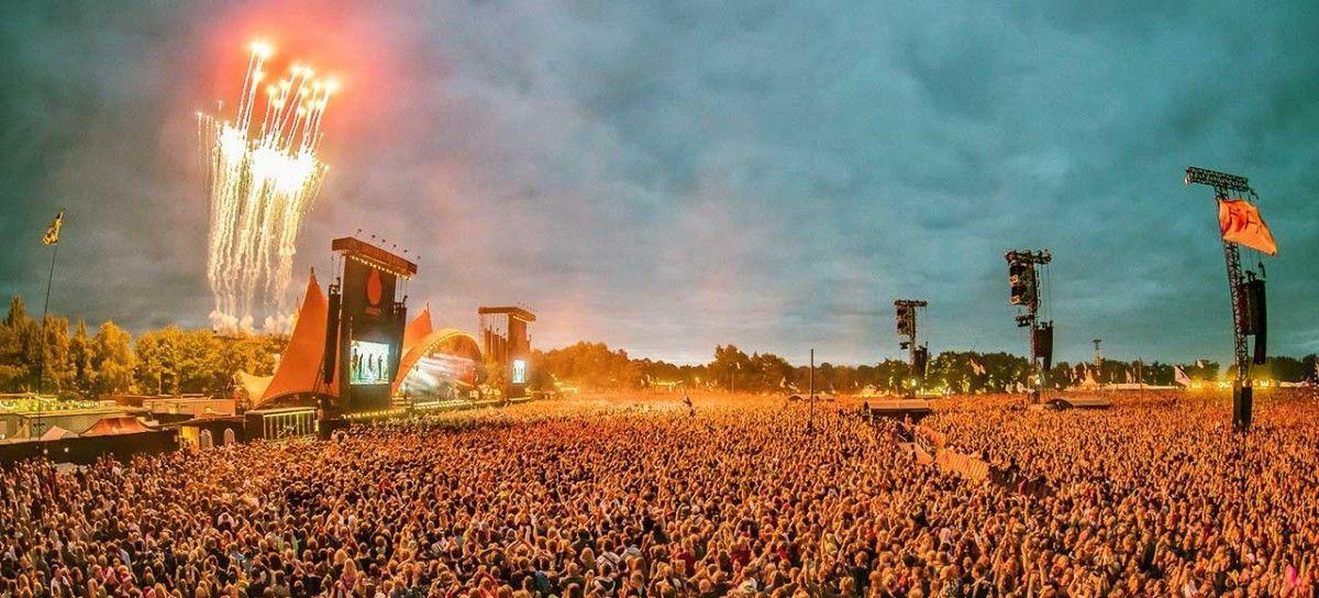 Europa Dinamarca Roskilde Festival