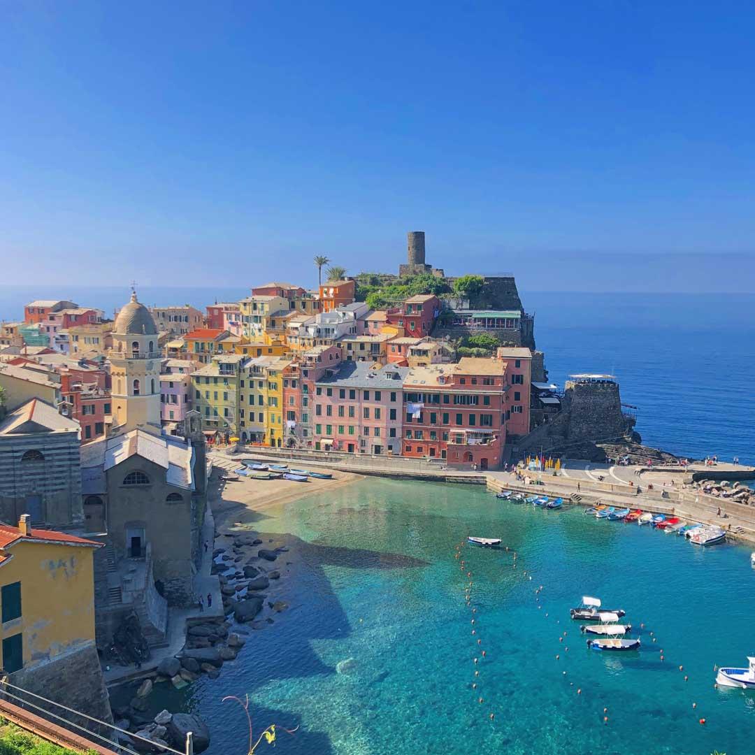 Italia Cinque Terre Vernazza