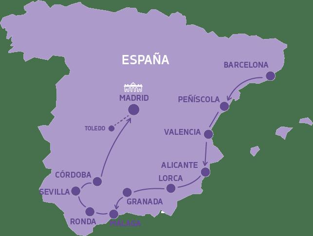 Viaje a España en Verano Descubriendo España
