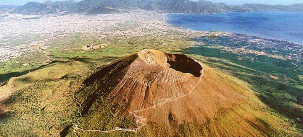 Volcan Vesubio desde arriba