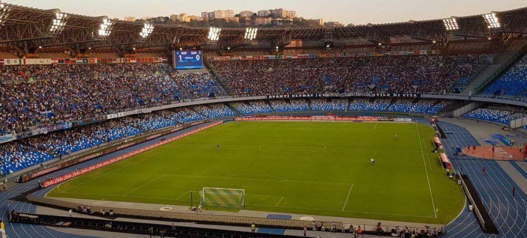 Italia Nápoles Estadio Diego Armando Maradona