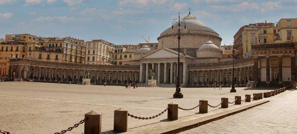 Italia Nápoles Plaza del Plebiscito