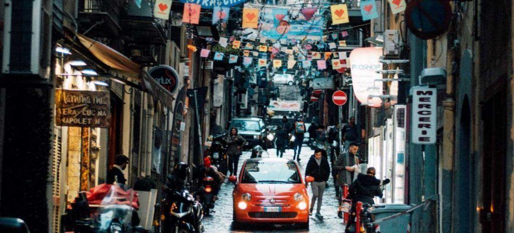 Italia Nápoles Cuartel Español