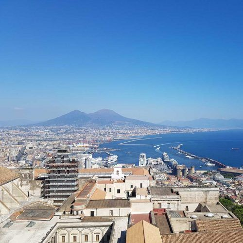 Italia Nápoles Vesubio
