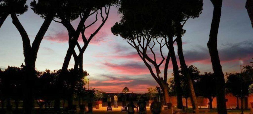 Italia Rincones de Roma el Jardín de los Naranjos
