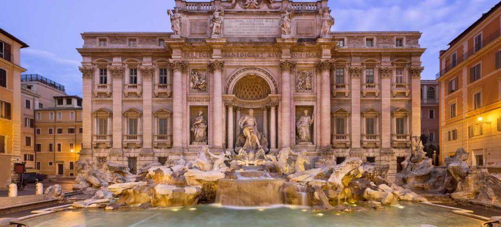 Italia Roma Fontana di Trevi