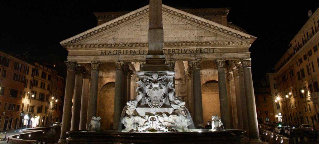Italia Roma Panteón Romano