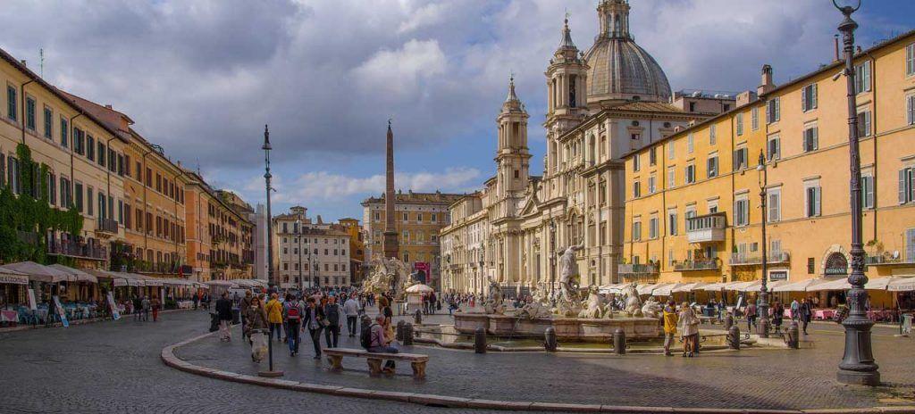 Italia Roma Piazza Navona