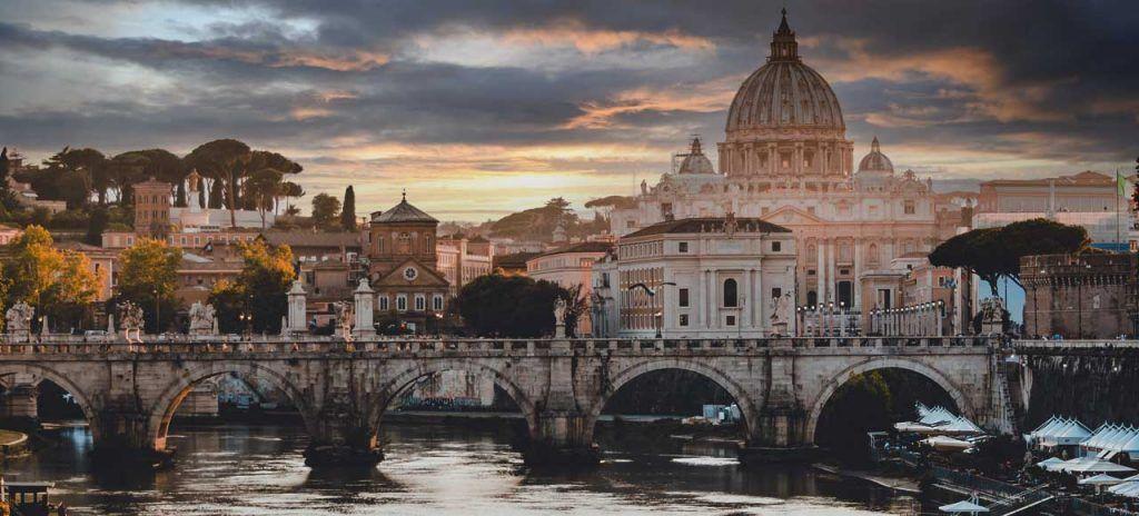 Italia Roma que ver en 3 días Río Tiber