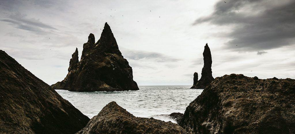 Viaje a Islandia con playas lunares