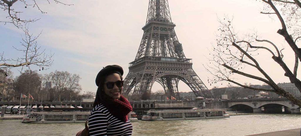 Francia Torre Eiffel Chica