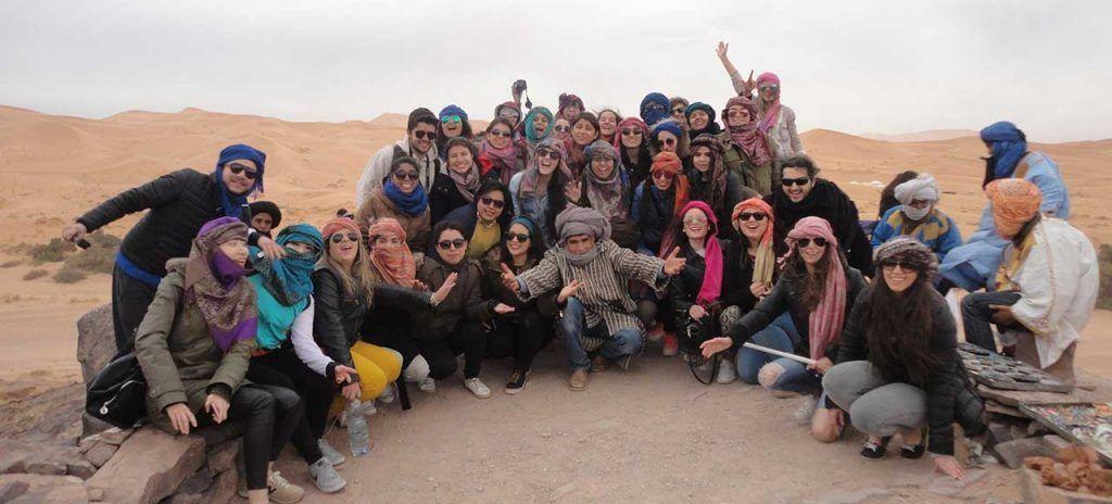 Africa Marruecos Desierto amigos