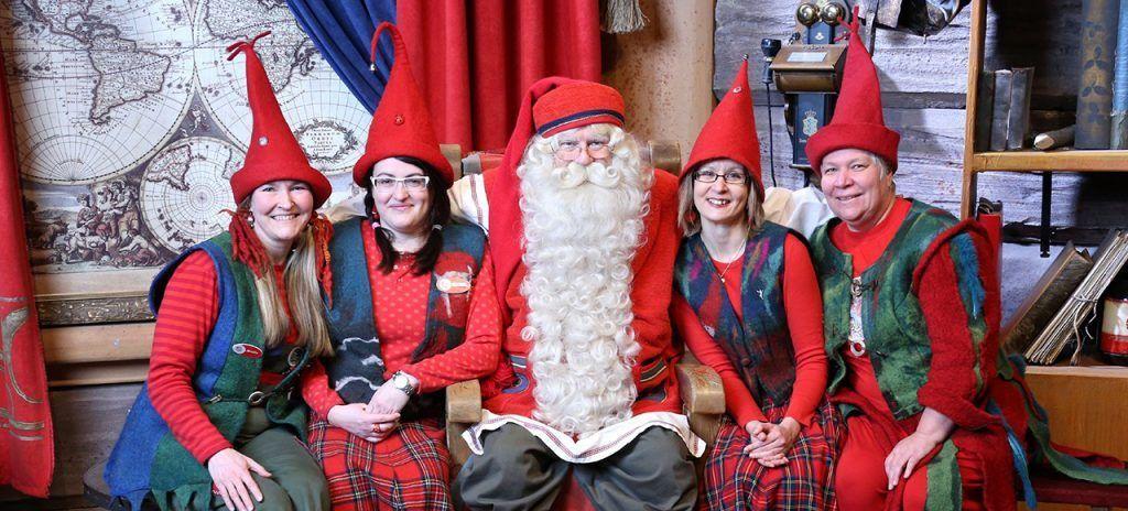 Visita a Santa Claus Auroras Boreales en Laponia