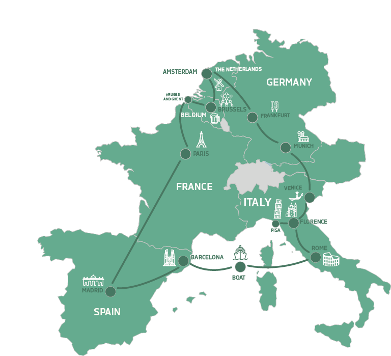 map Young Europe