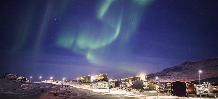 Groenlandia dónde ver Auroras Boreales