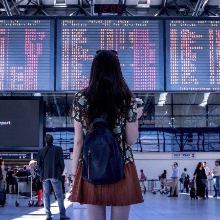 viajar sola chica viajera