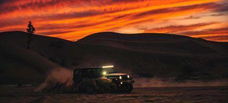 Emiratos Árabes desierto 4x4