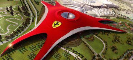Museo Ferrari Emiratos Arabes