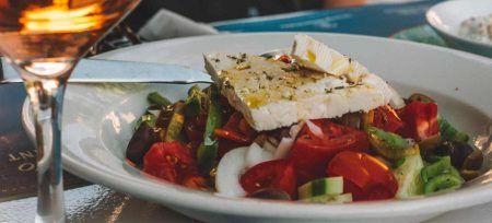 Datos curiosos de Grecia Comida griega queso feta