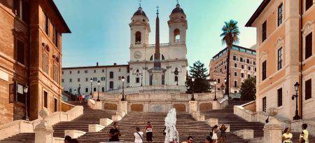 qué ver en Roma italia Plaza España