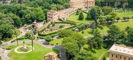 Italia Roma Vaticano Jardines