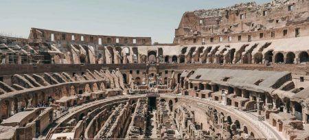 Coliseo por dentro Italia Roma