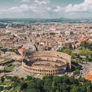 Italia Roma Coliseo