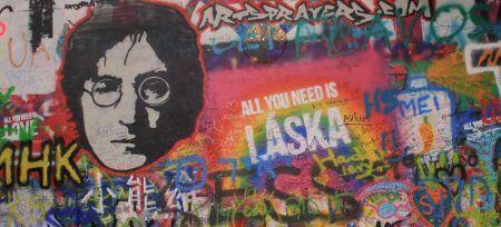 Qué ver en Praga Muro John Lennon
