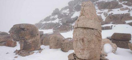 Turquia Nemrut cabezas gigantes