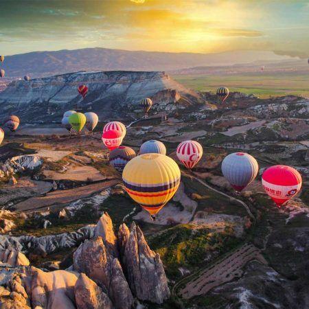 Turquía capadocia globos