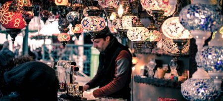 Datos curiosos de Turquía lámparas