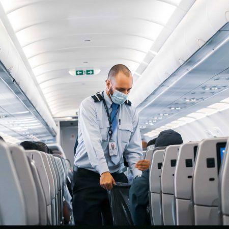Cuándo se podrá viajar a Europa Avión covid mascarillas