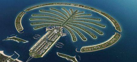 Curiosidades de Dubai Isla Palmera