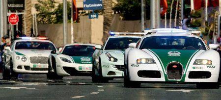 Curiosidades de Dubai Policia autos