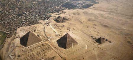 Egipto pirámides desde arriba