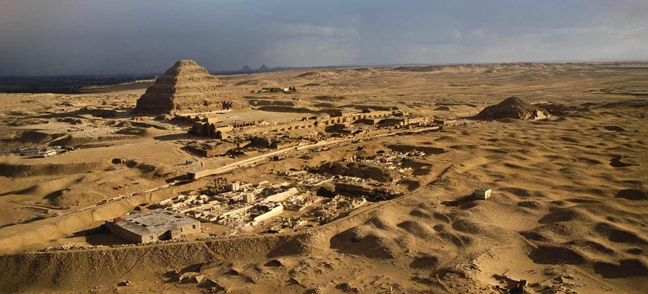 Egipto Memphis Pirámide escalonada