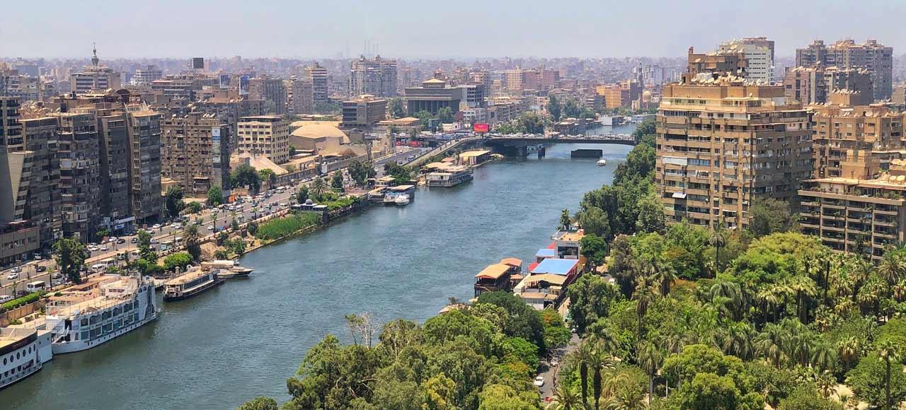 Egipto Río Nilo El Cairo