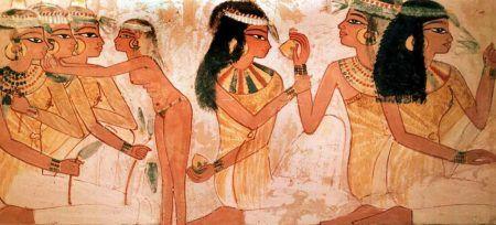 Pintura egipcia maquillaje