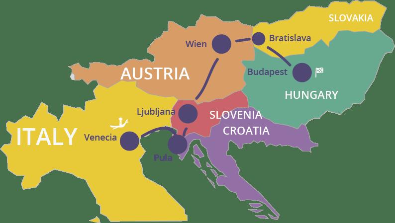 Viaje por los Balcanes de Norte